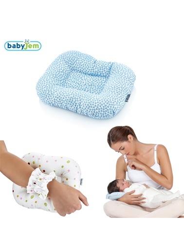 Babyjem Emzirme Yastığı  Kalpli-Baby Jem